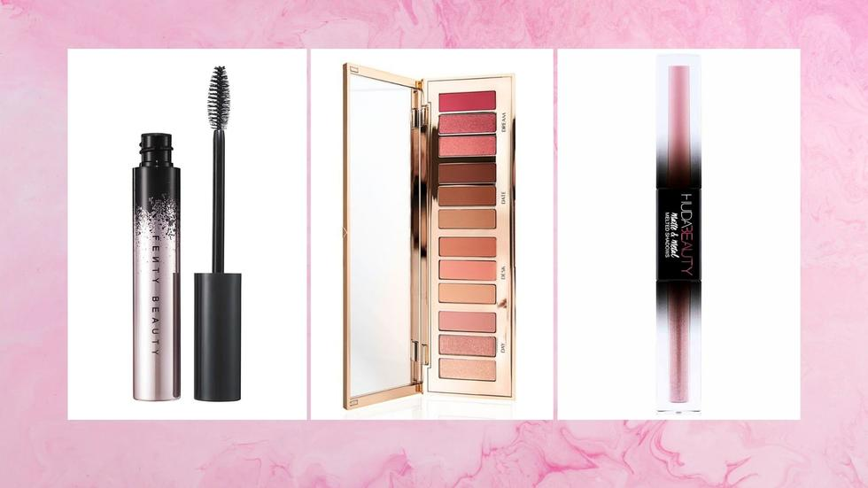 Eyeshadow, Valentine's Day, Anastasia Beverly Hills, Huda Beauty, Fenty Beauty, Charlotte Tilbury, Natural Looks, Pink eyeshadow