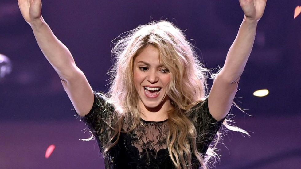Shakira showed off her Lebanese roots in the best way at the Super Bowl