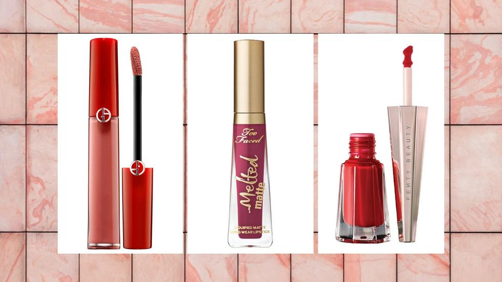 Pinks, reds and nudes - the perfect colour palette for February's festivities. Don't sleep on these long-wear lippies, they'll soon become handbag staples.