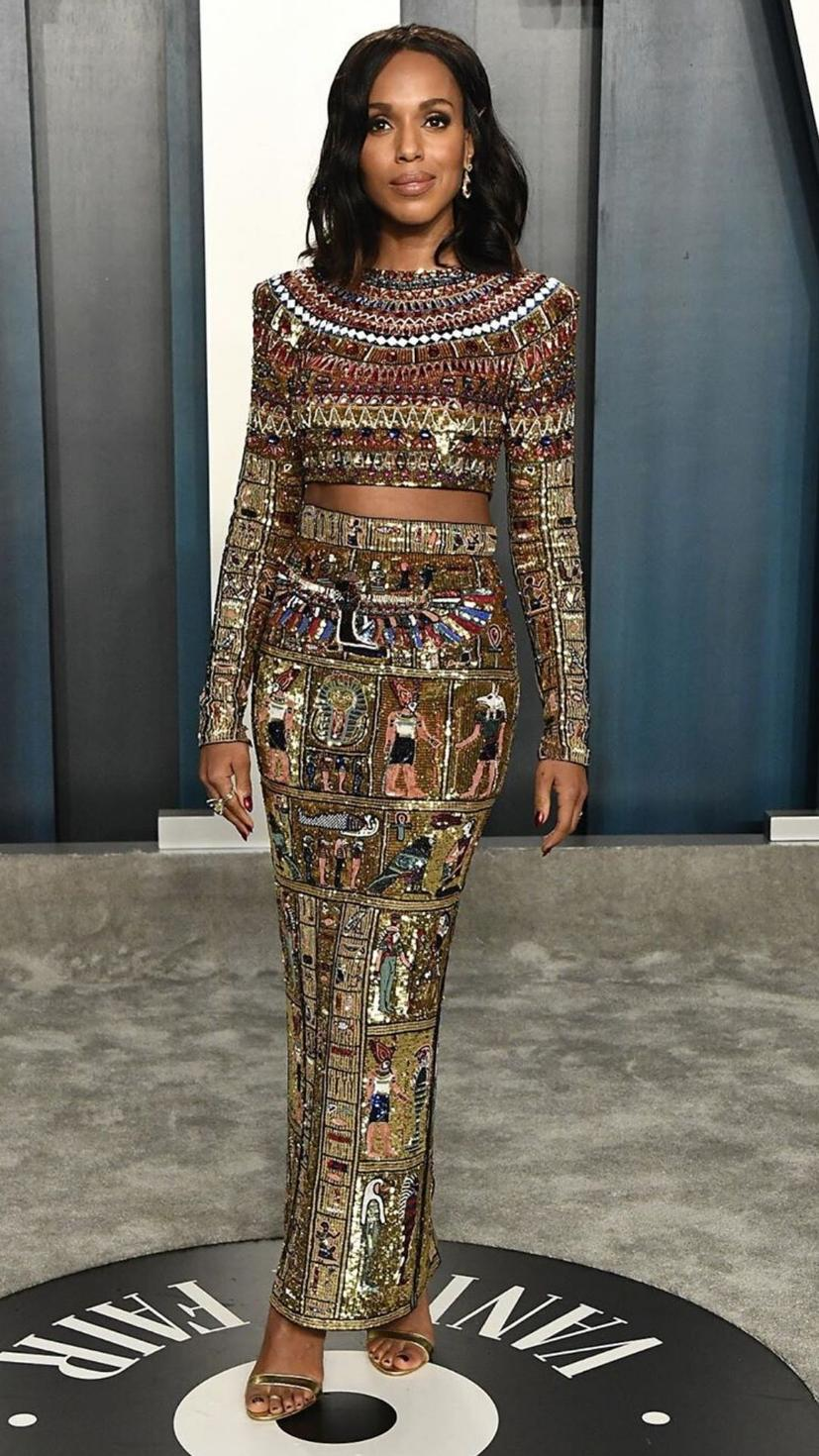 Kerry Washington wears Zuhair Murad Spring 2020 Haute Couture