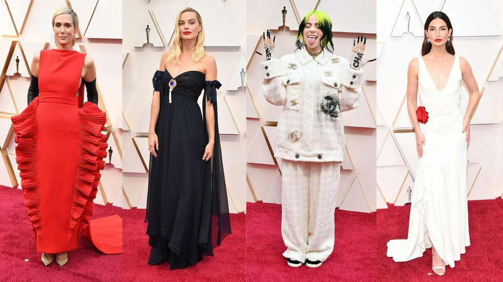 Take a look at the glitz and glam that these leading ladies brought to the 2020 Oscars - we're officially obsessed.