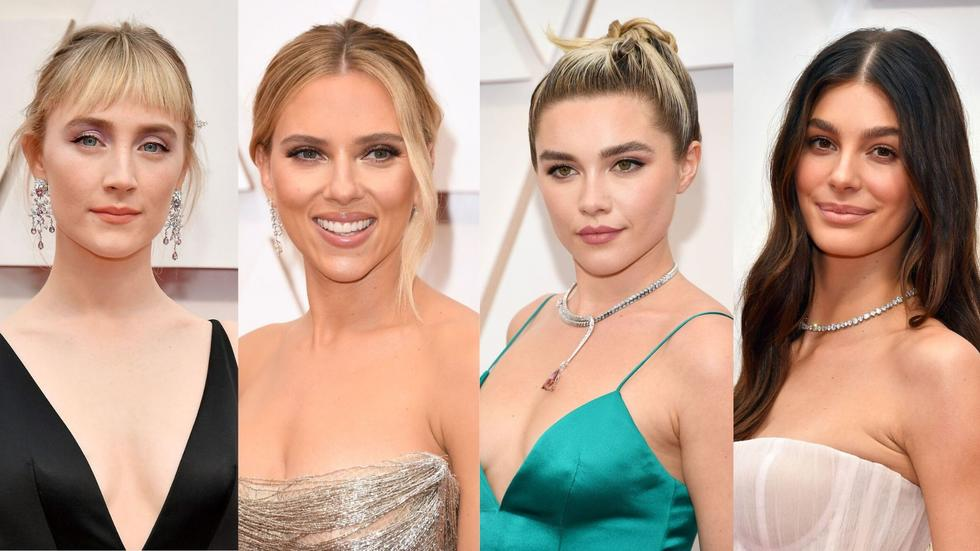 We're all for the stunningly studded gowns, but Saoirse Ronan, Scarlette Johansson, Florence Pugh, Camila Morrone, and some more gorgeous ladies proved on the Oscars red carpet that it's the woman that makes the dress and not the dress that makes the woman! Swipe through to find out what we mean!