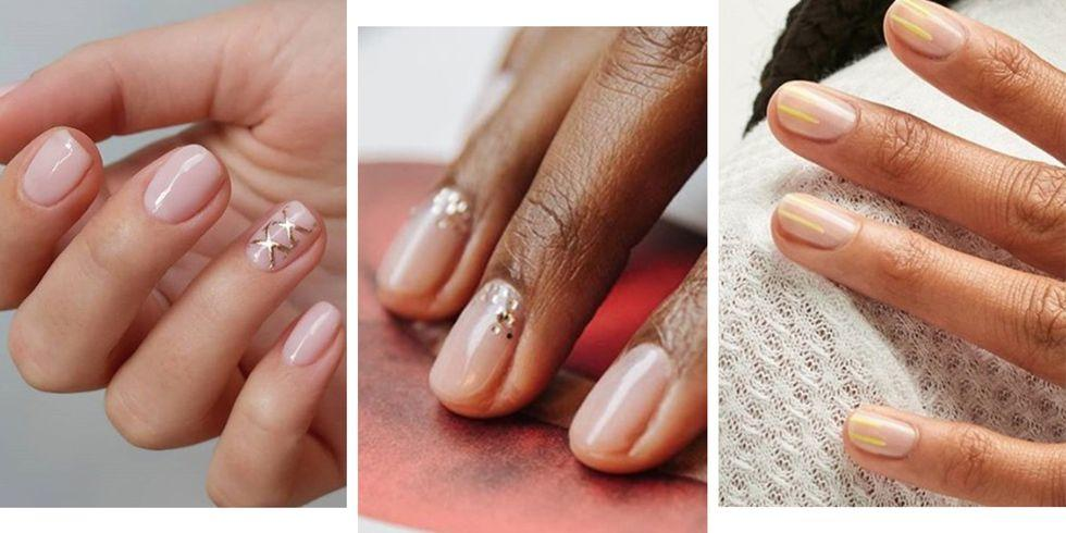 10 stunning nude nail designs you're going to want to try ASAP