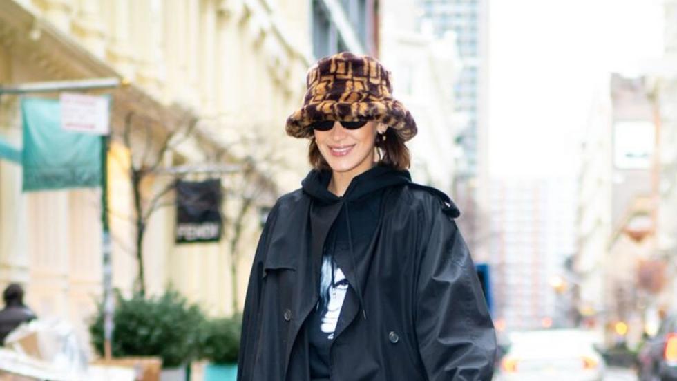 Bella Hadid wears an ASOS bucket hat and we're in love