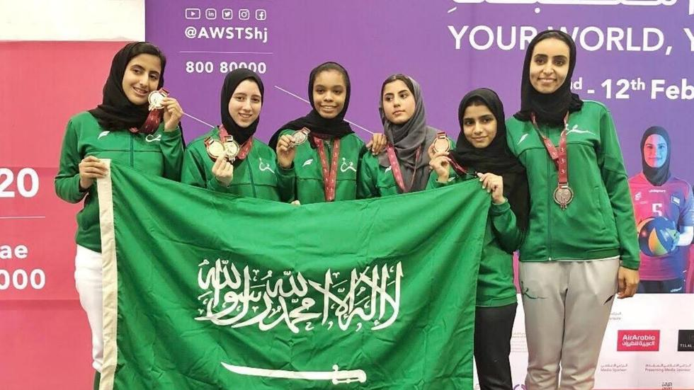 Female Saudi athletes made women everywhere proud in the AWST 2020