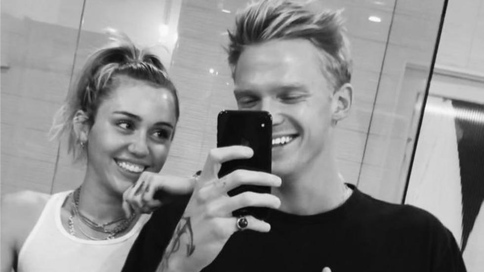 Um, Miley Cyrus and Cody Simpson got matching couples tattoos after five months of dating