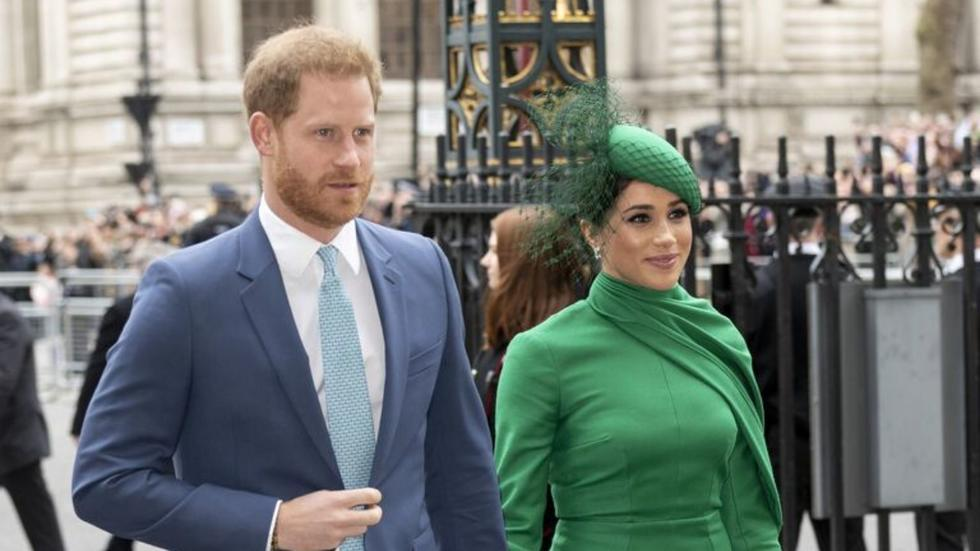 The subtle way Meghan and Harry colour coordinated their outfits on their final royal engagement