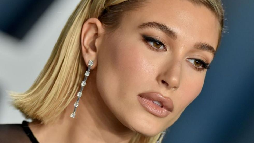 There's a reason Hailey Bieber wore hardly any make-up on her wedding day