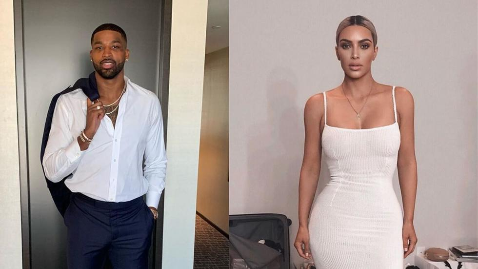 Errrr...Kim Kardashian just sent Tristan Thompson a super sweet *and random* birthday message