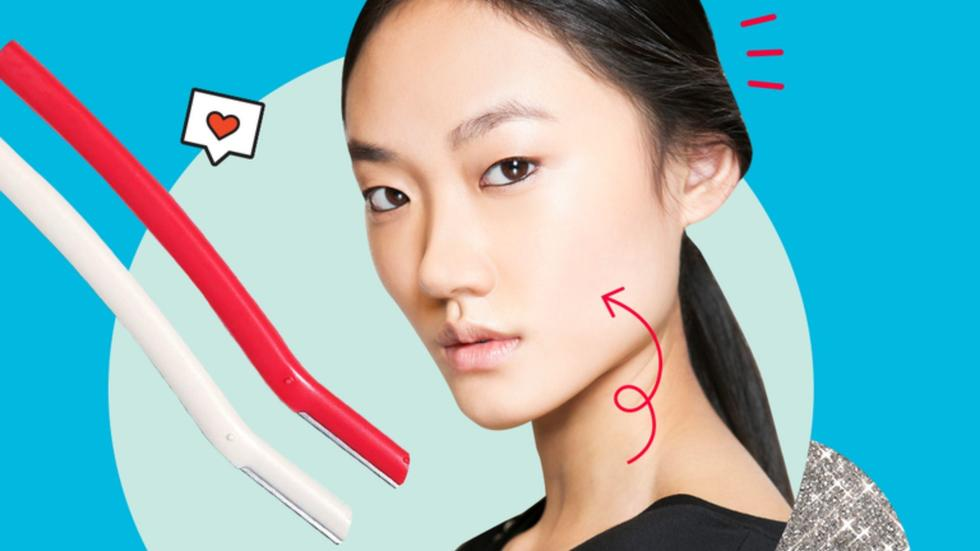 How to shave your face at home to remove peach fuzz