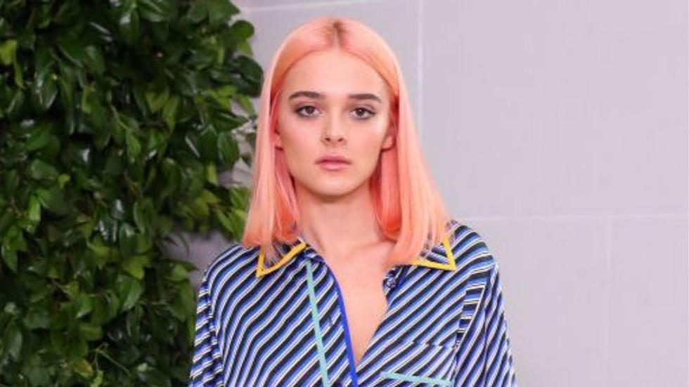 19-year-old Charlotte Lawrence says she's tested positive for coronavirus