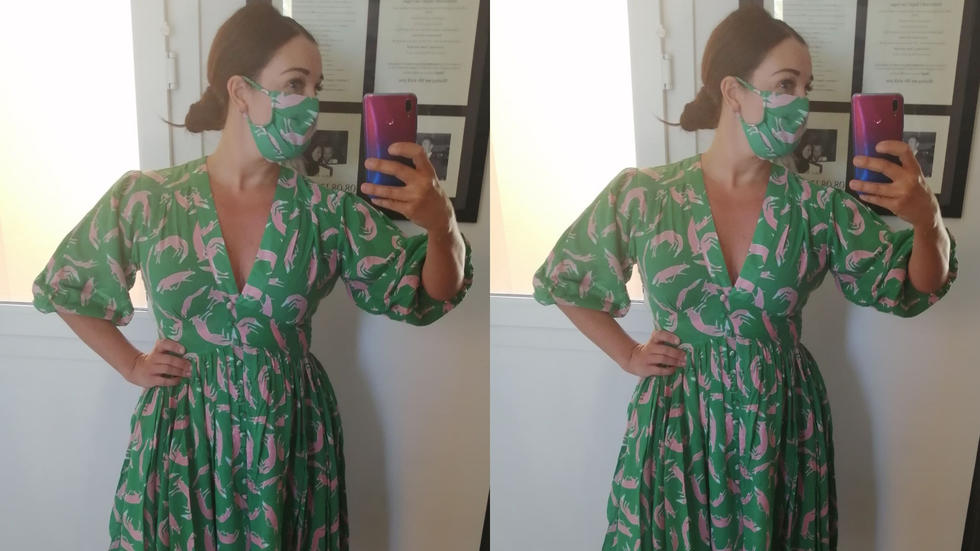 Matching face masks, The Story Of, Bali Dresses, Matching Dress and Face Mask
