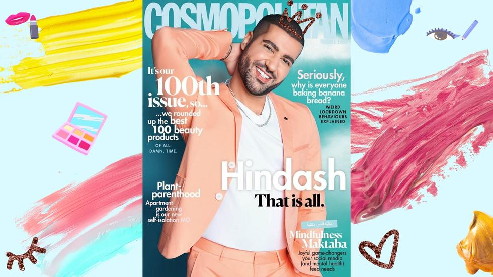 Hindash, Makeup tutorial, First Male Cover Star, Youtube