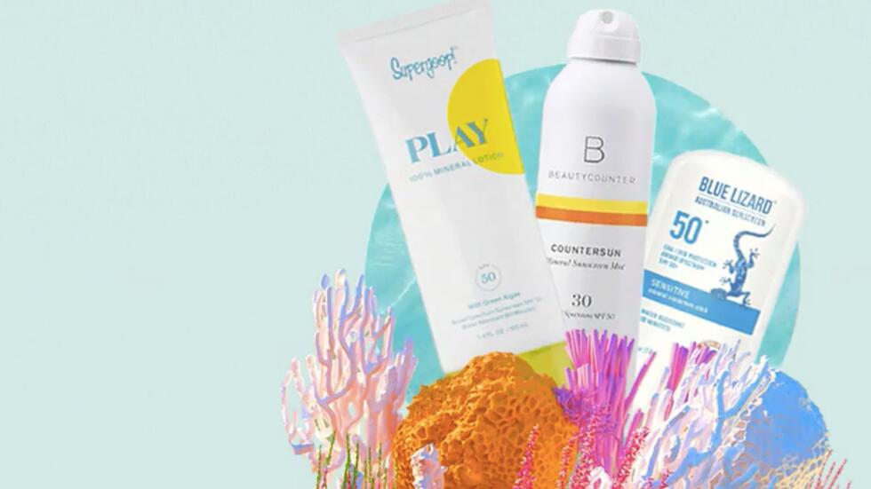 7 reef-safe sunscreens you should def try this summer