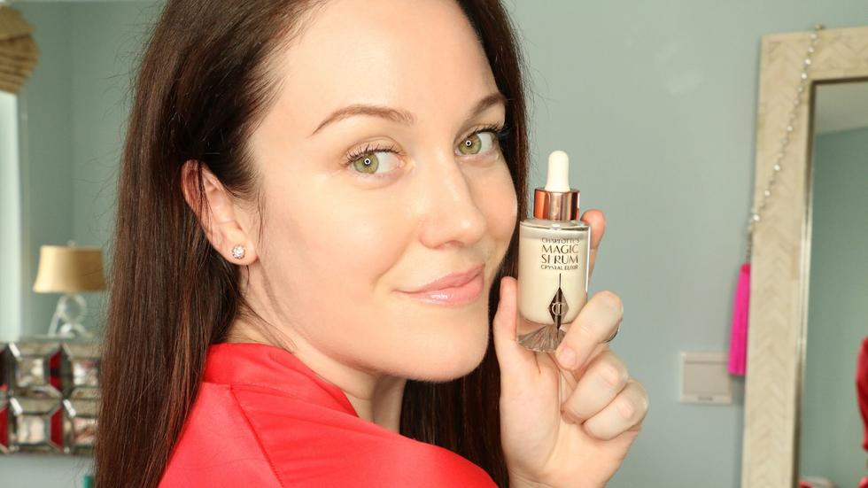 We just reviewed the Charlotte Tilbury Magic Serum Crystal Elixir and here's the verdict