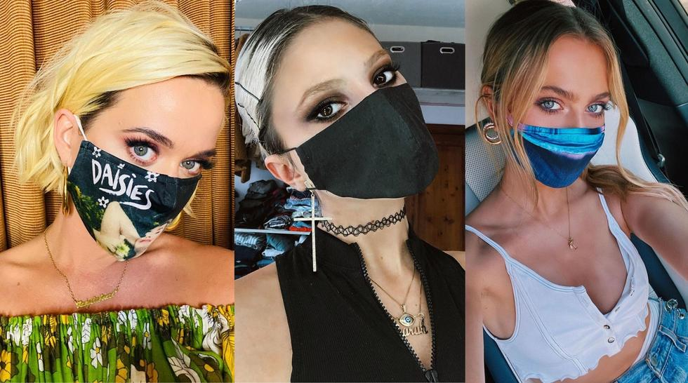 11 of the chiciest celeb mask lewks