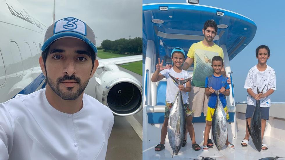 Sheikh Hamdan shares pictures of fishing trip as coronavirus restrictions are lifted in Dubai