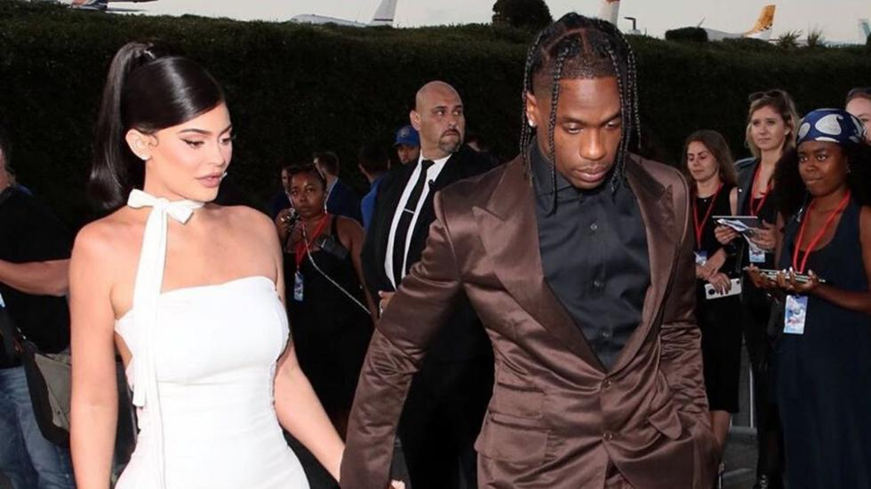 Kylie Jenner and Travis Scott were just spotted leaving an LA hotspot together