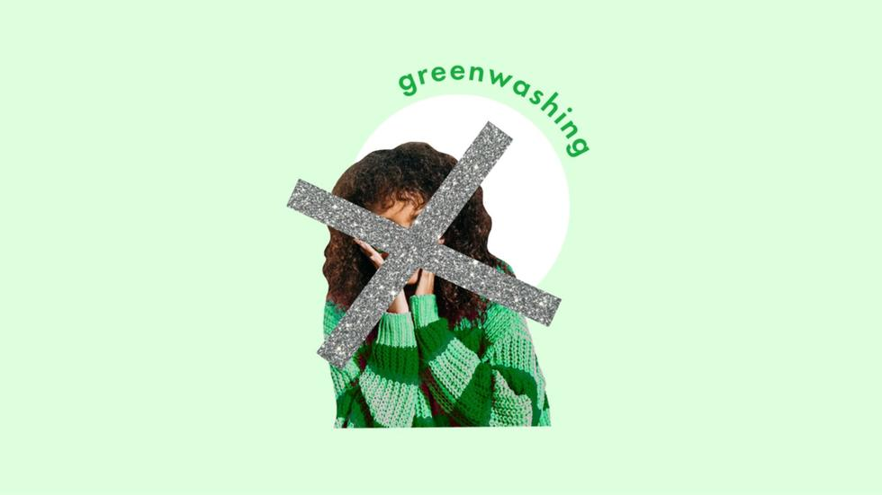 What is greenwashing and why do some fashion brands do it?