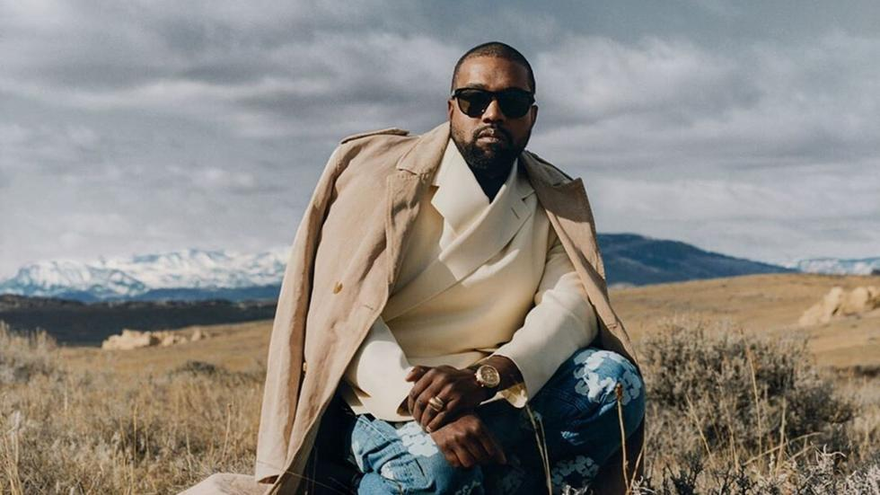It looks like Kanye West is launching his own beauty line
