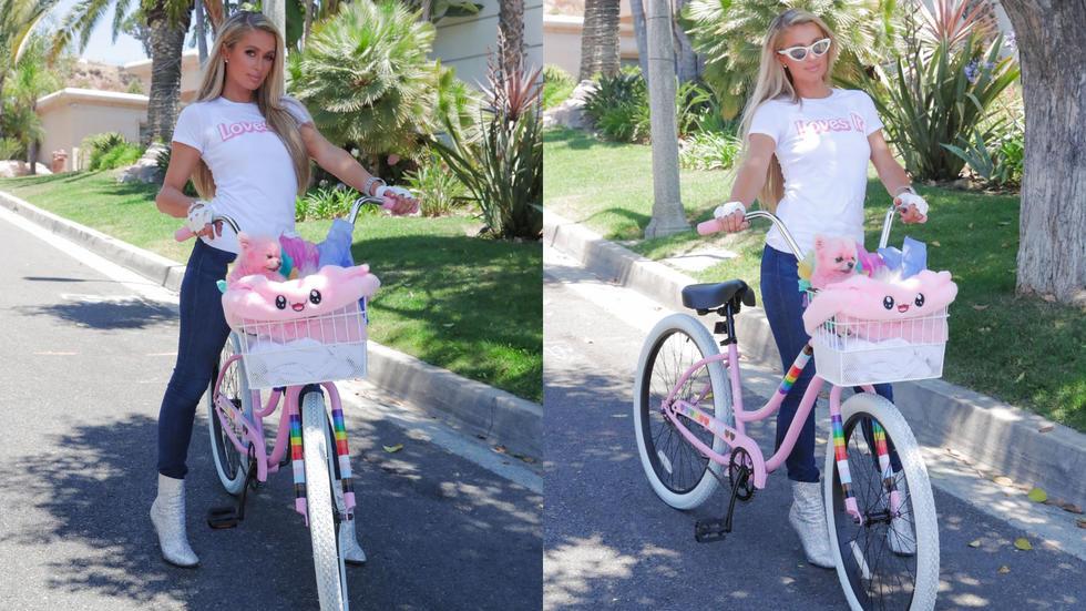 Paris Hilton just released the most Paris Hilton home workout video