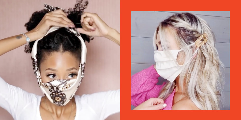 Face mask hurting your ears? Try these 7 low-key brilliant hairstyle tricks