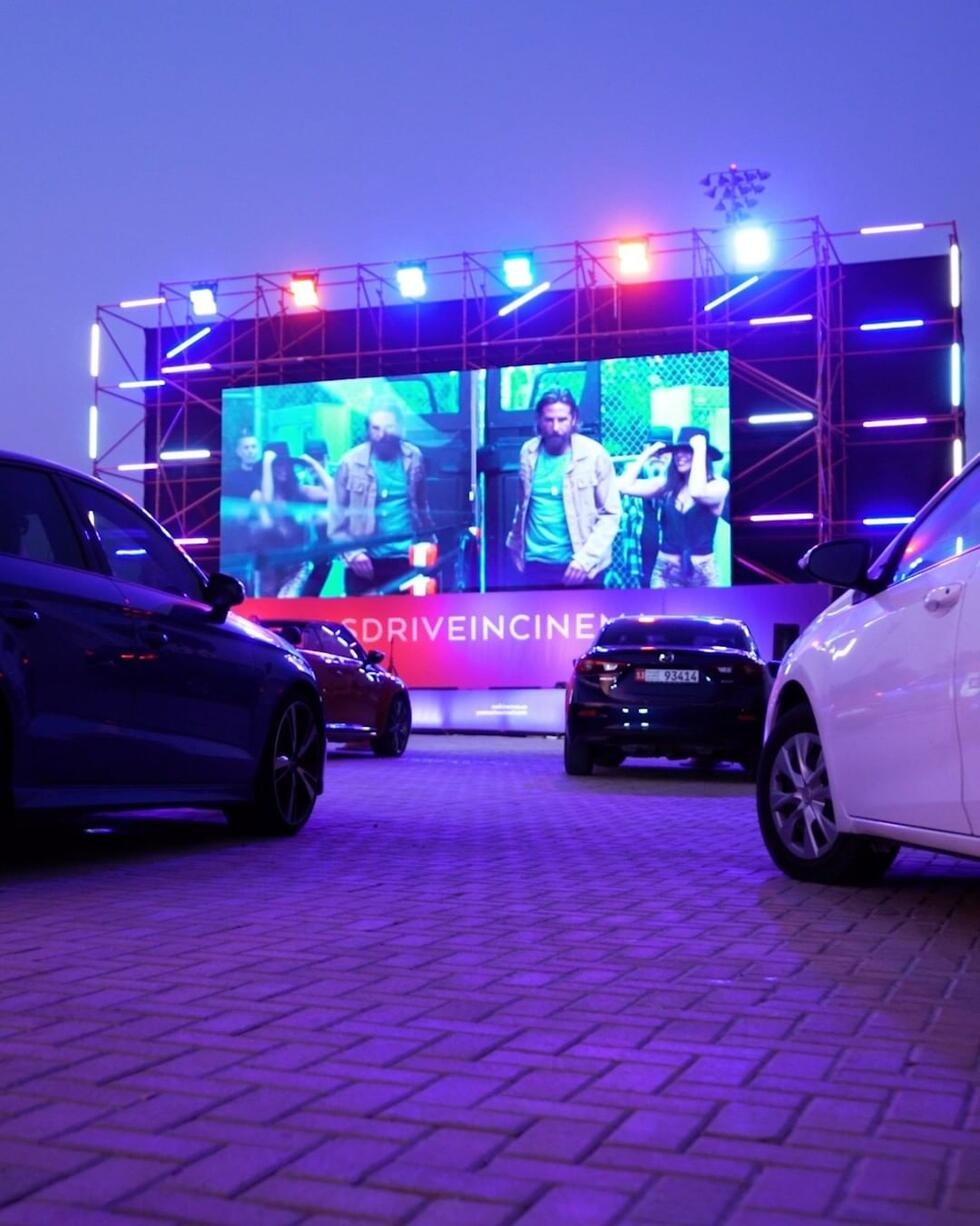 We've just discovered the coolest drive-in cinema in Abu Dhabi