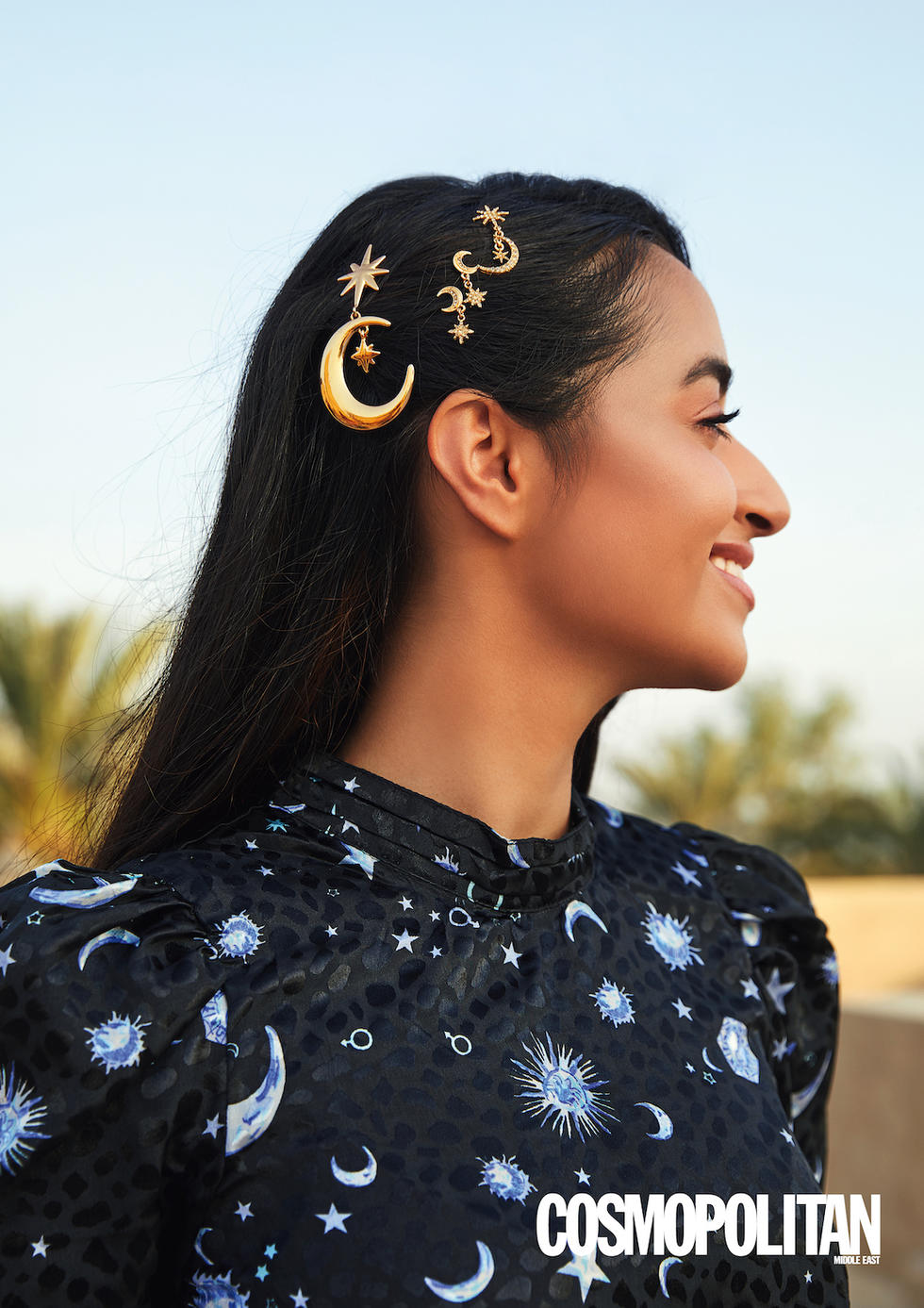 - Hair Accessories: Earring 1, Asos Design, Dhs35; Earring 2, Asos Design, Dhs35